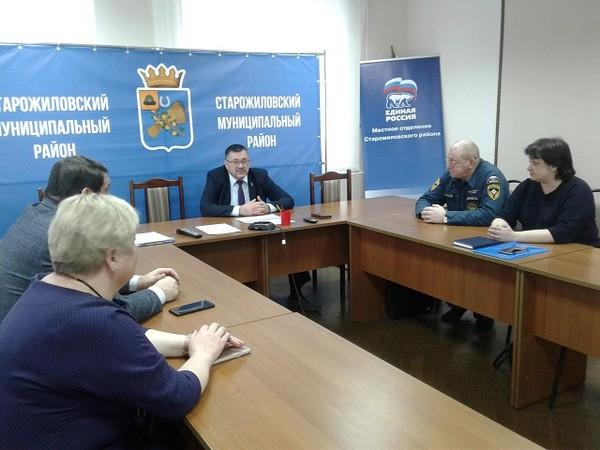 В Старожиловском районе выберут главу Столпянского сельского поселения